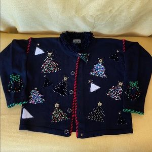 Christmas Tree Berek Sweater